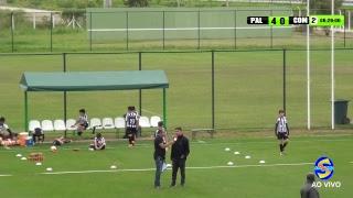 Palmeiras X Comercial RP  Paulistão SUB 11