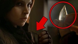 Rogue One: A Star Wars Story - Felicity Jones on the Force & Jyn Erso's Necklace