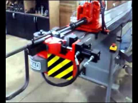 Tecnomaq Curvadoras Maquina Curvadora de Tubo 3D 5 Eixo.avi