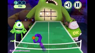 Monsters University Games Online - Tic Tac Throw Game - Disney Games