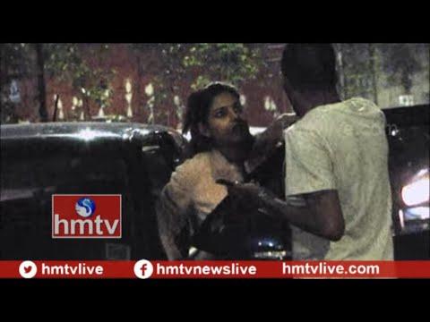 Xxx Mp4 Drunken Woman Fight With Police In Hyderabad Telugu News Hmtv 3gp Sex