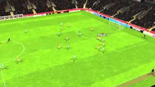 Galatasaray vs Man City - Ag�ero Goal 7 minutes
