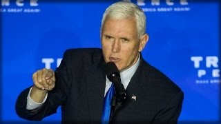 MIKE PENCE CALLS FOR TRUMP SUPPORTERS TO MONITOR POLLING PLACES