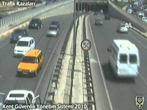 Antalya Trafik Kazaları Mobese Kamera Kayıtları Traffic Accident in Turkey Antalya