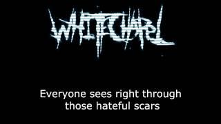 WhiteChapel - Fall Of The Hypocrites - Lyrics / Letra