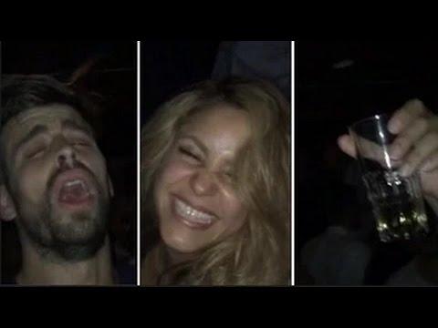 Xxx Mp4 Gerard Piqué Y Shakira Celebración Y Alegría Tras La Ganar La Champions 2015 3gp Sex