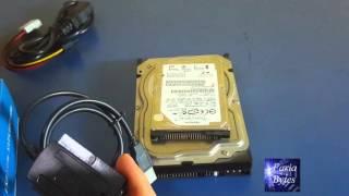 Como ligar HD IDE em PC Sata por USB