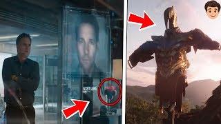 9 Detalles Ocultos en el Trailer Avengers 4 EndGame Que No Notaste