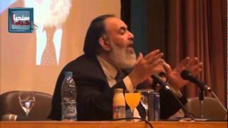 لقاء حازم أبو اسماعيل بطب القصر العيني 27 12 2011