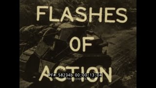 AMAZING MOMENTS OF WORLD WAR I COMBAT CAUGHT ON CAMERA  FLASHES OF ACTION (Print 2) 58234b