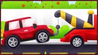 TRUCKS! Build & Play Kids 3D Puzzles Apps Demo - CAR REPAIR GARAGE ipad App /Дети построить]
