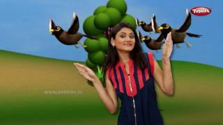 Gujarati Rhymes Collection For Children   Action Songs Collection in Gujarati   Birds Action Songs