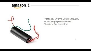Homemade DIY 700000 Volt Very high voltage Taser