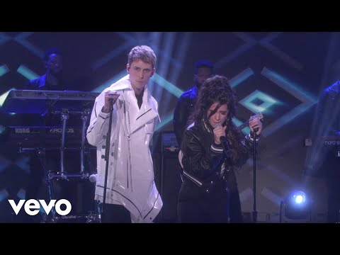 Download Machine Gun Kelly, Camila Cabello - Bad Things (Live On The Ellen DeGeneres Show/2017) On Musiku.PW