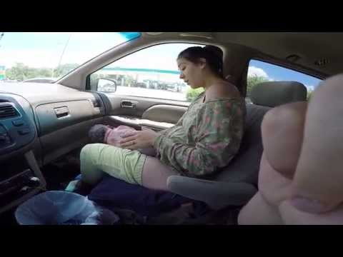 Woman gives birth to 10lb baby in car