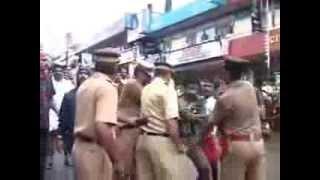 RSS activists thrashed  SDPI crooks in Thodupuzha Idukki Kerala