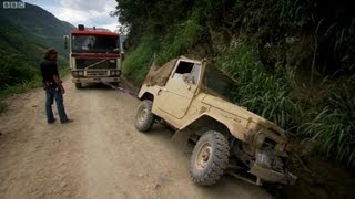 Bolivia's Death Road - Top Gear - Series 14 - BBC