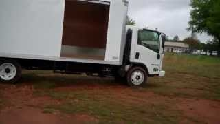 Lawn Care Box Truck 22 ft Isuzu NPR HD EFI 14500 GVW