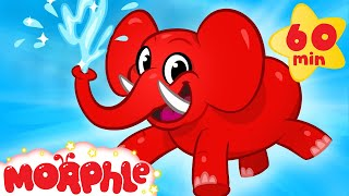 My Pet Elephant - Learn to Clean + 1 hour kids Video compilation by My Magic Pet Morphle