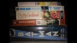 Manga Graphic Novel Haul # 36 Megaman Megamix,