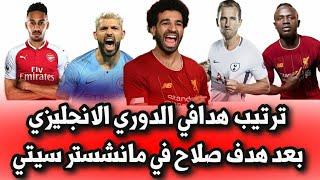 ترتيب هدافي الدوري الانجليزي بعد هدف محمد صلاح في مرمي مانشستر سيتي ونهاية الجولة ال12 من الدوري