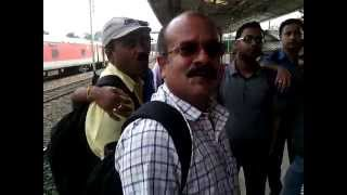 Anwar Hussain at Jagiroad Railway Station dt. 27.10.2014