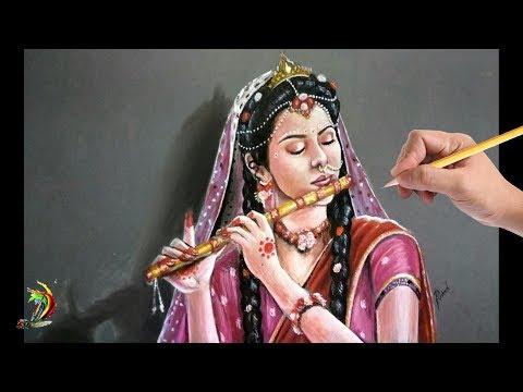 Xxx Mp4 Most Beautiful Mallika Singh Drawing Radha Krishna Star Bharat Mallika Singh Portrait 3gp Sex