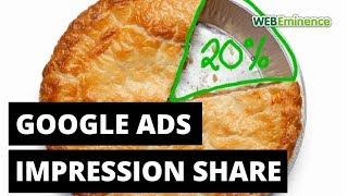 AdWords Impression Share - How Big Is Your SLICE OF PIE?
