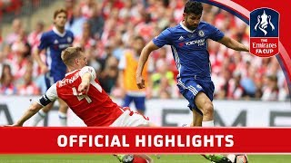 Arsenal 2-1 Chelsea - Emirates FA Cup Final 2016/17   Official Highlights