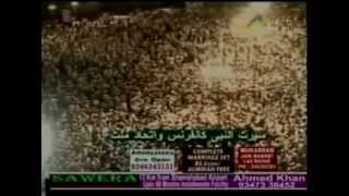 Astonishing Huge Crowds in India attend Dr Tahir ul Qadri Lecture at Hyderabad