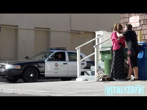 Woman Abused In Front Of Cops Prank