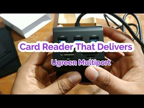 Xxx Mp4 UGREEN USB Card Reader USB 3 0 Hub 3gp Sex