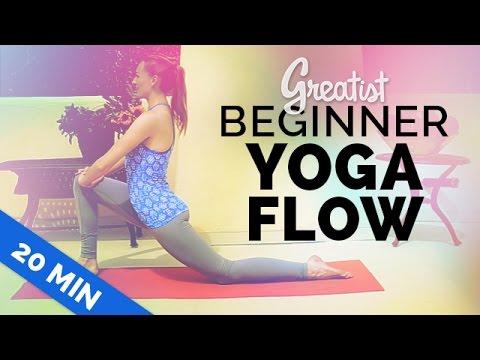 Beginner Yoga Flow for Greatist | Yoga for Total Beginners | 20-min