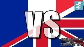 France Vs United Kingdom Ep13 - Hearts of Iron 4 (HOI4)