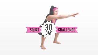 30 day squat challenge day 1
