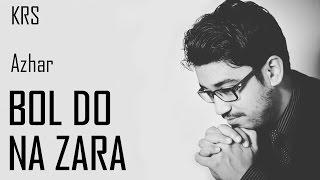 Bol Do Na Zara Karaoke | Lyrics Chords | Instrumental | Azhar | Armaan Malik, Amaal Mallik | KRS