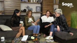 Regresamos!!...#SagaLive con Mikel Arriola, Carmen Baqué y lectura de rostro con Lourdes Chaltelt