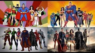 Justice League - Evolution in TV & Films (1967-2017)