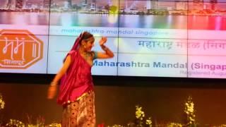 Shailee Shah Dance Performance -Maharashtra Mandal