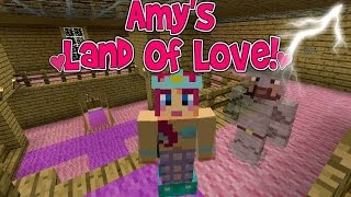 Amy's Land Of Love! Ep.125 My House Is HAUNTED!! | Minecraft | Amy Lee33