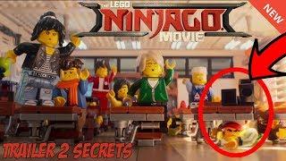 10 Amazing Secrets in the LEGO Ninjago Movie Trailer 2!