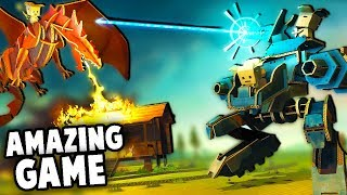 This Game is AMAZING!  Battling RAPTORS, Crafting Weapons!  (Cardlife Gameplay Part 1)