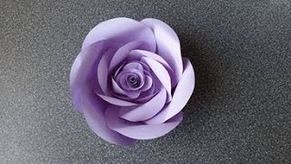 How to Make a Paper Rose Flower (type 5)