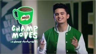 Learn how to dance the MILO Champ Moves with James to #BeatEnergyGap | Nestlé PH