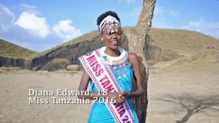 Diana Edward - Miss Tanzania 2016/2017