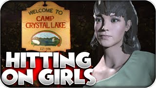 Hitting On Girls! Funny Moments | Friday the 13th: the Game