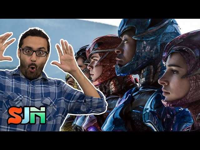 It's Mighty Power Rangers Trailer Reaction Time!