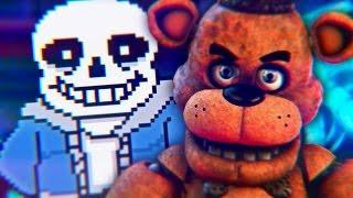 Sans VS. Freddy Fazbear [Batalha de Gigantes]
