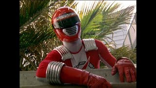 Power Rangers Operation Overdrive - Out of Luck - Red Ranger's Unlucky Day (Episode 18)