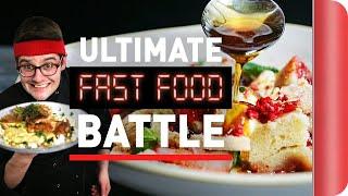 Chef vs. Chef ULTIMATE FAST FOOD BATTLE